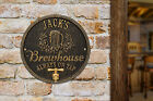 Oak Barrel Personalized Beer Pub Plaque
