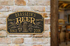 Quality Crafted Beer Personalized Arch Plaque