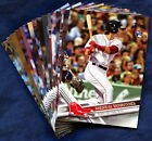 2017 Topps Boston Red Sox Baseball Card Your Choice - You Pick
