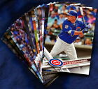 2017 Topps Chicago Cubs Baseball Card Your Choice - You Pick