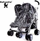 My Pram Pal® Raincover Compatible with Mountain Buggy Duo Double Pushchair