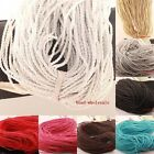 5M Man-made Leather Braid Rope Hemp 3mm Cord For Craft  DIY Necklace Or Bracelet