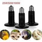 25W/50W/100W Ceramic Heat Emitter Bulb Light Lamp For Reptile Pet Brooder SM