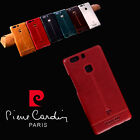 New Pierre Cardin Genuine Leather Hard Back Case Cover For Huawei P9/P9 Plus
