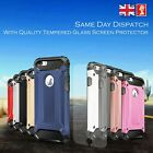 Dust Proof Shockproof Armour Heavy Duty Tough Case Cover Iphone 5 Se 6 7 8 X 10