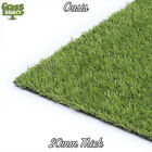 OASIS REALISTIC ARTIFICIAL GRASS LUXURY CHEAP FAKE LAWN GARDEN ASTRO TURF
