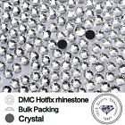 SS6 Crystal Clear Hot Fix - Iron On / Glue On Rhinestone Diamante 1 - 100 gross