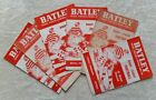 Batley Rugby League Home Programmes 1950s 1960s & 1970s