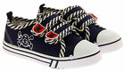 Baby Boys Double Strap Canvas Trainers Casual Summer Shoes Infant Sz Size 3 4