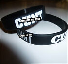 """C**T"" - Silicone Wristband - Offensive, Funny & Rude! Rock, Goth, Punk, Metal"