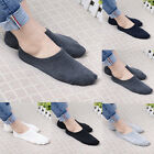 3 Pairs Men Casual Cotton Loafer Boat Non-Slip Invisible Low Cut No Show Socks