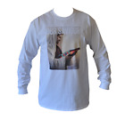 T SHIRT LONG SLEEVE OUR SAVIOUR VB BEER VICTORIA MENS WHITE ALL SIZES S TO 3XL