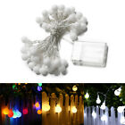 4M 40Led RGB/W Battery Powered Led Ball String Fairy Light For Party Home Decor