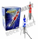 "Large 18"" Retro Rocket Ship LAVA motion Lamp Light Cave Bedroom Novelty RM2155"
