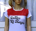 Daddy's Lil Monster T Shirt Harley Suicide Ready to Ship Valentine