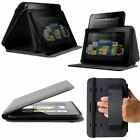 New Marware Axis Genuine Leather Rotating, Standing Case for Kindle Fire HD 7""