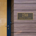 Hartford Two Line Personalized Address Plaque