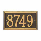 Double Line One line Personalized Address Plaque