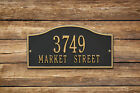 Rolling Hills Two Line Address Plaque