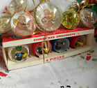 14 Vintage Diorama Christmas Ornaments ~Angels & Jewelbrite Toy Soldiers in Box