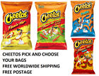 Cheetos Flamin Hot Crunchy Chips Puffs Cheese Pick one FREE WORLDWIDE SHIPPING