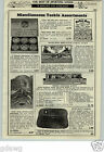 1933 PAPER AD South Bend Sure Ones Fishing Lures Store Window Display Easel Card