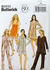 BUTTERICK PATTERN CAMISOLE DRESS TOP SHORTS PANTS EASY # B5932