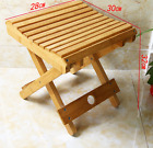 Bamboo folding stool, chair, strong, portable fishing rest, vase base 竹折叠凳方凳板凳马扎