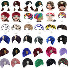 Fashion Stretchable Men Women Soft Indian Style Turban Hat Head Wrap Band Cap