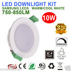 6X 10W LED DOWNLIGHT KITS DIMMABLE 70MM CUTOUT IP44 RECESSED WARM COOL WHITE