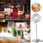 10/20/30pcs Round Table Number Place Card Photo Holder Wedding Party Favor Clip