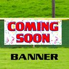 Coming Soon Promotion Banner Sign Now Open Grand New Business Watch Shop