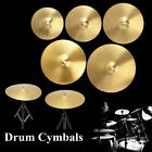 New High Quality 8/10/12/14/16/18/20 Inch Copper Alloy Crash Cymbal for Drum Set