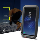 LOVE MEI Galaxy S8 / Plus Shockproof Waterproof CNC Alu Metal Armor Case Bumper