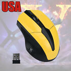 2.4GHz Wireless Optical Gaming Mouse 3200DPI Mice USB Receiver For PC Laotop US