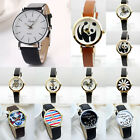 Muti-style Casual Cartoon Watch Women Ladies Watches for Girls Leather Band NEW