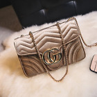 Women Handbag CG Luxury Designer Velvet Waves Flap Bag Chain Cross-body Bags HQ