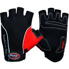 Max5 Summer Weight Lifting Gloves Gel Padded Palm Fingerless Cycling Glove