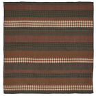 Beckham Horizontal Plaid Strips Quilt in 4 Sizes