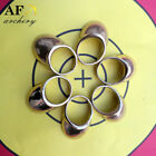 AF archery 17-24mm Copper Thumb Ring for Archery long bow for shooting