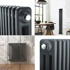 Traditional Anthracite Column Radiators Central Heating Victorian Cast Iron New