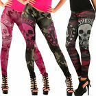 Yakuza Damen Leggings Military LEB10144  Damenhose Röhre Printleggings Hose