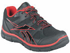 New Reebok RB2204 Men's Black with Red Trim Sport Grip Work Shoes