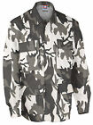 BDU 4-Pocket Coat 60/40 Poly/Cotton Twill, 6-Color Urban Camo FAST Free Shipping
