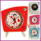Betty Boop Women's Alarm Clock COLLECTOR Table Twin Bell Triangle Clock $5.99 USD on eBay