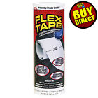 Flex Tape Rubberized Sealant Tape - Super Strong, Waterproof (White) BUY DIRECT! For Sale