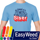"SISER EasyWeed Heat Transfer Vinyl 15"" X 1YD - Heat Press / Iron On TShirt HTV"