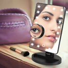 Easehold Tri-Fold 21 LED Lighted Touch Screen Stand Vanity Makeup Mirror 4 Color