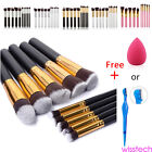 1/10Pcs Women Makeup Set Pro Kit Brushes Kabuki Makeup Cosmetics Tool 6 Colors
