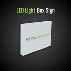 Acrylic Perspex LED Two Sided Light Box Sign / Illuminating Front Shop Signs